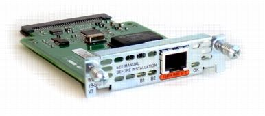 Cisco 1-Port ISDN WAN Interface Card (dial and leased line)
