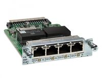 Cisco 4-Port 3rd Gen Multiflex Trunk Voice/WAN Int. Card - T1/E1