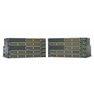 Cisco Catalyst 2960 24 10/100 PoE, 2 10/100/1000/SFP LAN Base - REFURBISHED