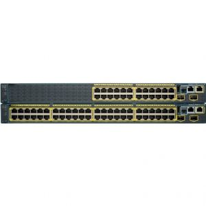 Cisco Catalyst 2960 24 10/100 (8 PoE), 2 10/100/1000/SFP LAN Lite - REFURBISHED