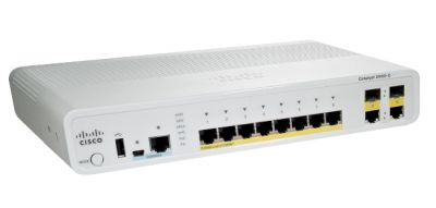 Cisco Catalyst 2960C Switch 8 FE, 2 x Dual Uplink, Lan Lite