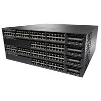 Cisco Catalyst 3650 48 Port Full PoE, 1025W AC PS, 2x10G Uplink, IP Services