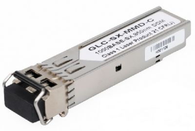 GLC-SX-MMD GE SFP, LC connector, SX transceiver, MMF, 850nm, DOM