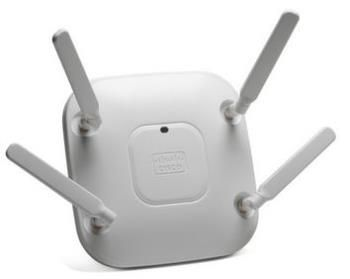 Cisco Aironet 2600e, 802.11agn CAP w/CleanAir, 3x4:3SS MIMO, External Antennas